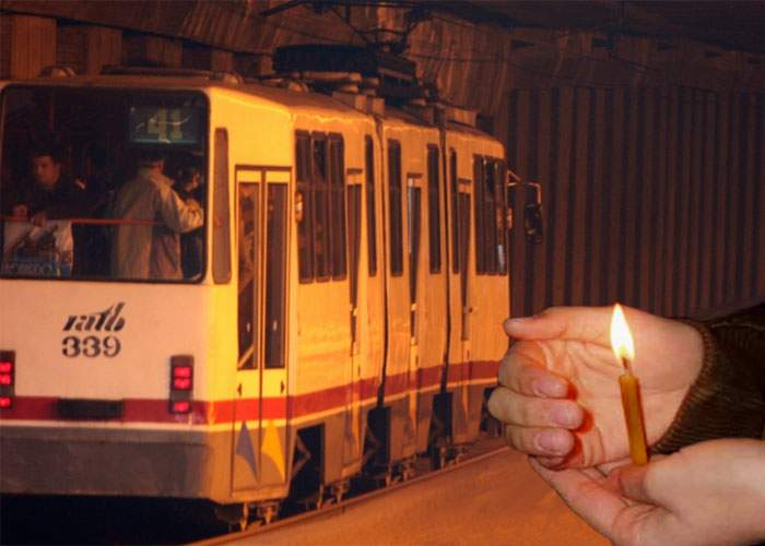 În noaptea de Înviere a fost arestat un psihopat care picura ceară pe călătorii din tramvaiul 41