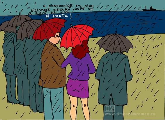 Plouă la mare