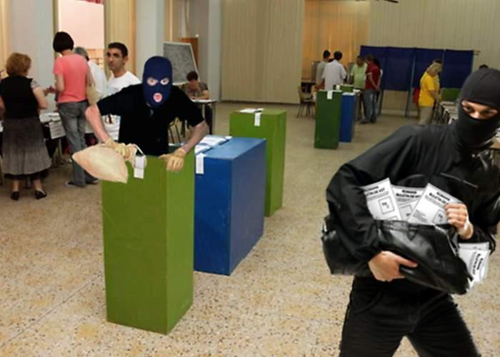 Poliţia a destructurat o reţea infracţională extrem de periculoasă de furturi la urne!