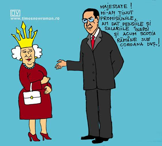 Ponta save the Queen