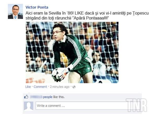 Fotogalerie! Alte 10 realizări măreţe cu care s-a lăudat Victor Ponta pe Facebook