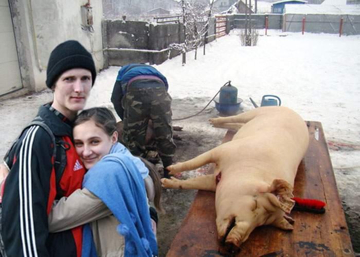 Pentru că nu știu ce se face de Dragobete, mulți români au tăiat porcul