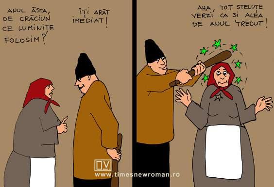 Pregătiri pentru Crăciun în Vaslui