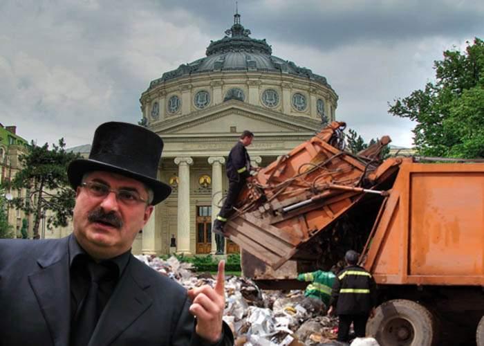 Prigoană: Dacă ies primar, toţi bucureştenii vor avea gunoi după pofta inimii!