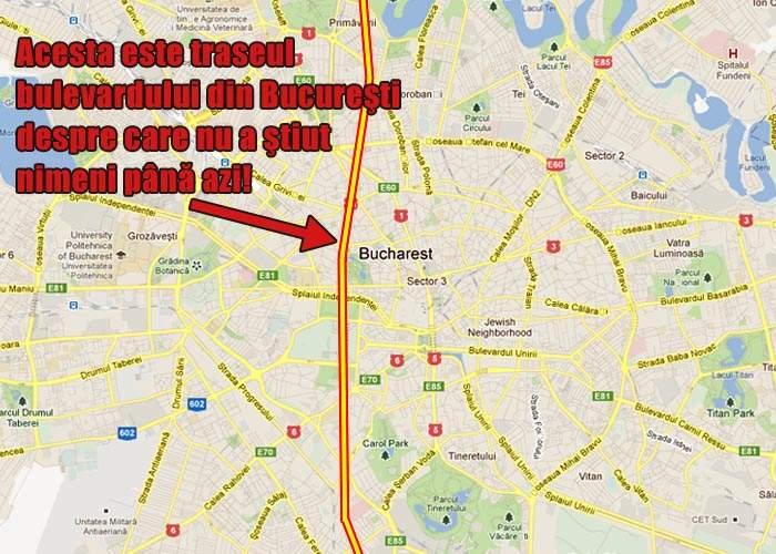 Primăria Capitalei a descoperit un bulevard secret despre care nu se ştia nimic până acum!