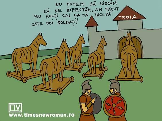 Probleme la Troia