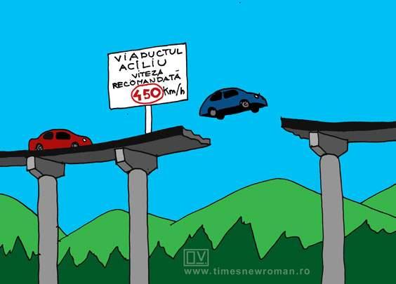 Probleme la viaduct