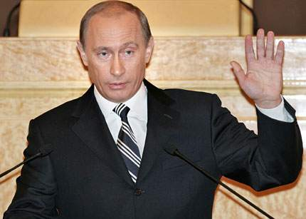 Putin a condamnat liberalismul în Duma de stat de la Moscova