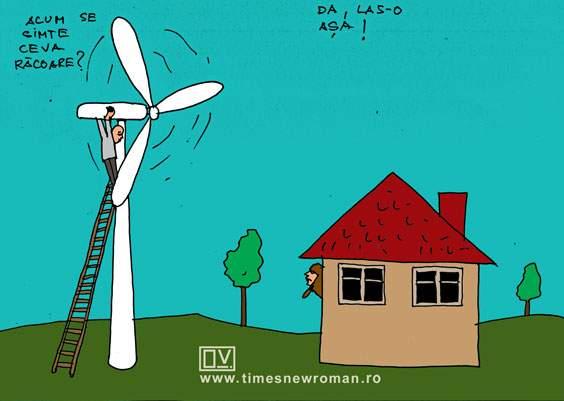 Răcoarea eolianei