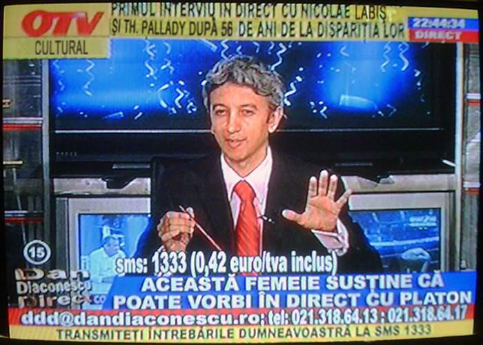 Reacţie la restructurările din TVR: Dan Diaconescu lansează OTV Cultural!