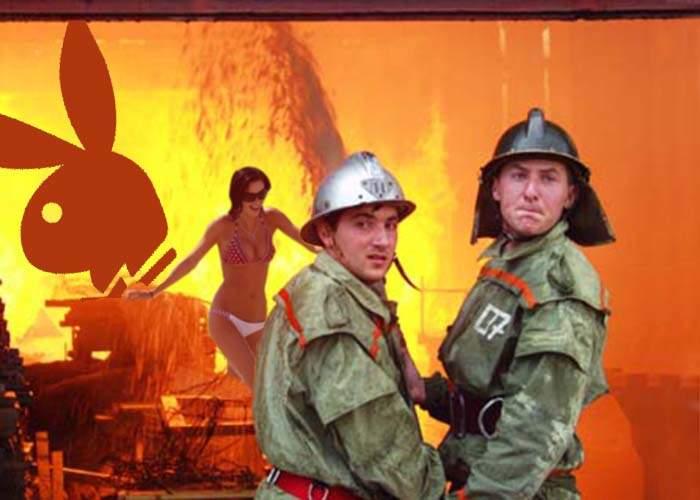 Redacţia revistei Playboy a ars din cauza unui pictorial incendiar