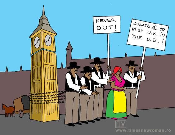 Românii din UK condamnă Brexit-ul