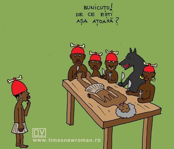 Scufița roșie canibală