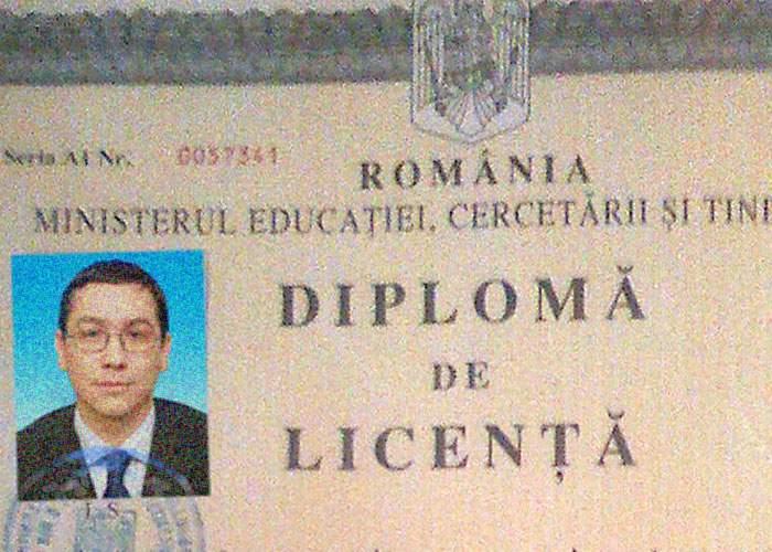 Şocant! Ponta ar putea avea o diplomă de studii reală!