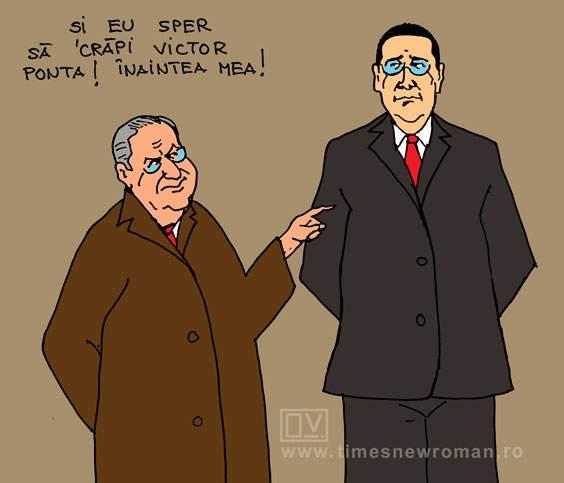 Sper sa crăpi Victor Ponta!