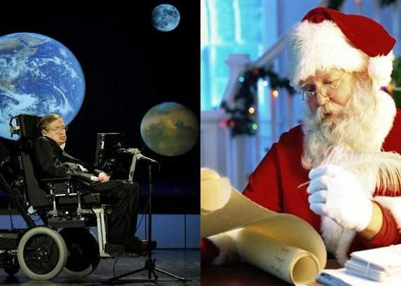 Stephen Hawking a declarat că Moş Crăciun nu există