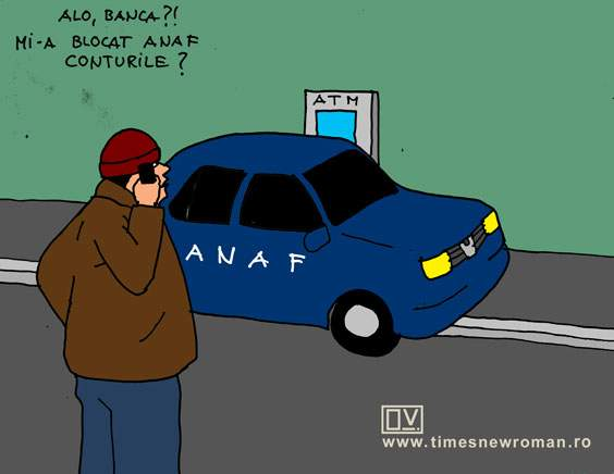 Surpriză la bancomat
