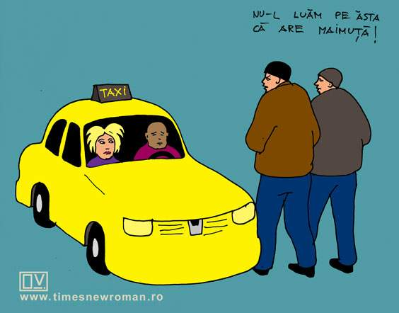 Taxi cu maimuță