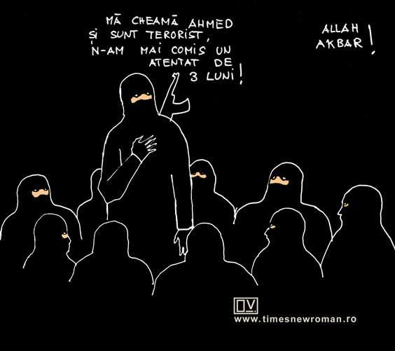 Teroriştii anonimi