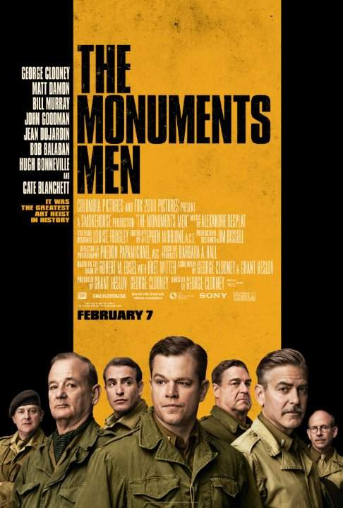 The Monuments Men – Avem echipă, n-avem vigoare