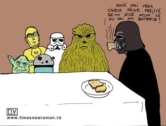 Toast Vader