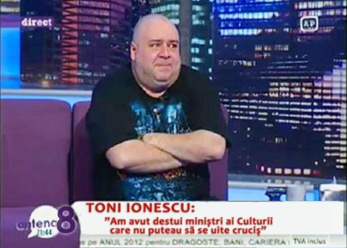 Mircea Diaconu i-a cedat portofoliul Culturii actorului Toni Ionescu