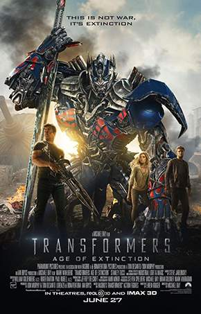 Transformers: Age of Extinction – Mă transform, deci rezist