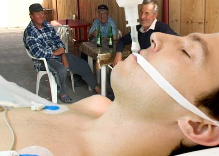 Miracol medical! Un bărbat s-a trezit din comă alcoolică după 25 de ani!