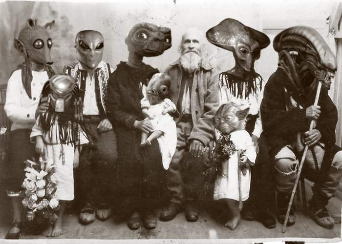 Un extraterestru a descoperit că are strămoşi în România!