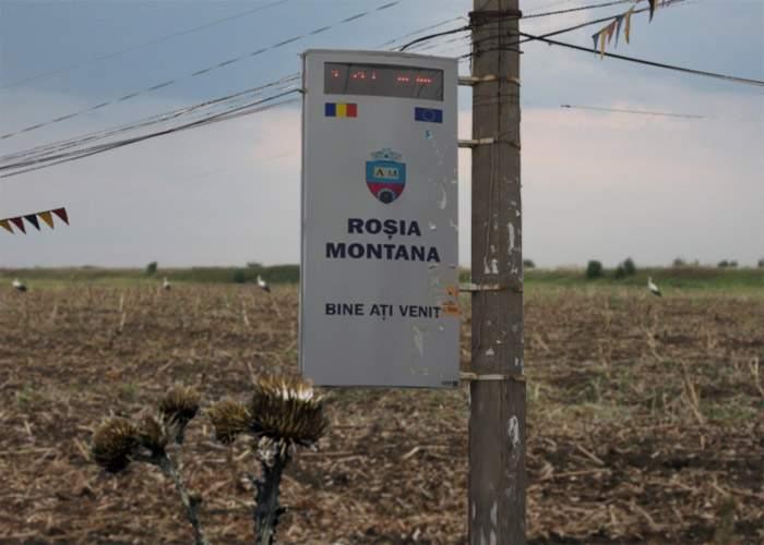 Un sat din Bărăgan vrea să-şi schimbe numele în Roşia Montană ca să le ia banii canadienilor