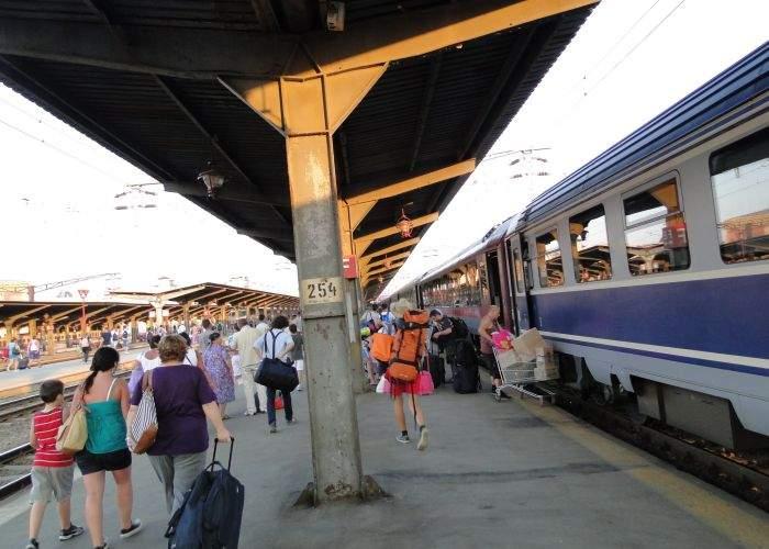 Stupoare! Un tren al CFR-ului nu a avut întârziere
