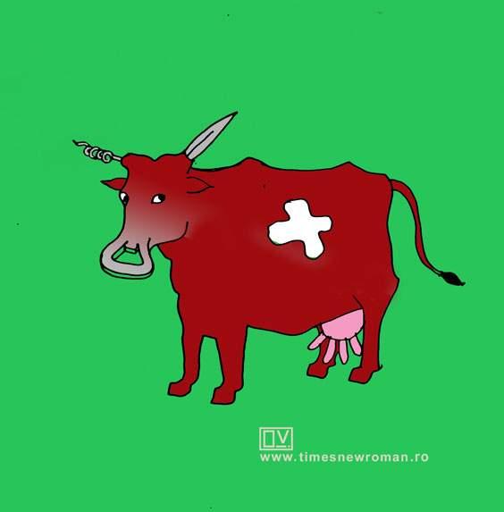 Vaca elveţiană
