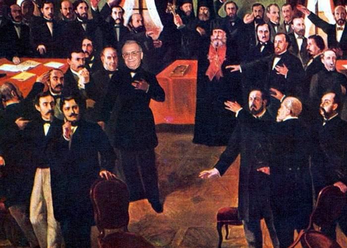 Vanghelie i-a mulţumit lui Iliescu pentru că a făcut Unirea Principatelor din 1859