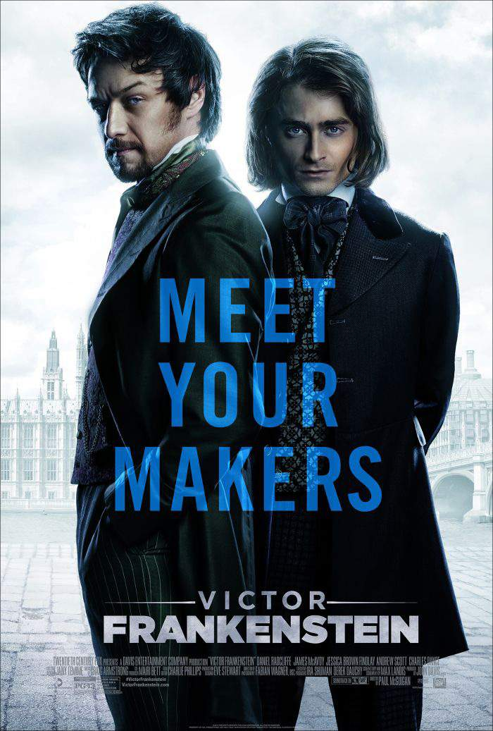 Victor Frankenstein (2015) – Intră în priza greșită