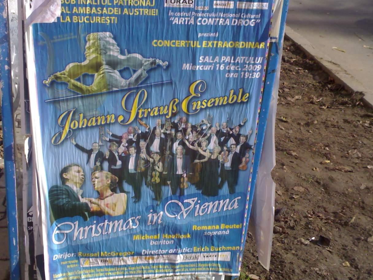 Petrece Crăciunul în Viena, mai exact la Bucureşti