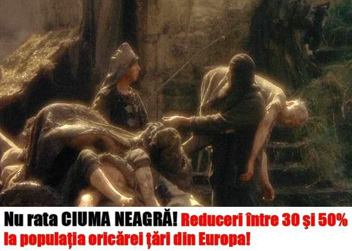 După reducerile de Vinerea Neagră, românii abia aşteaptă să vină şi Ciuma Neagră!