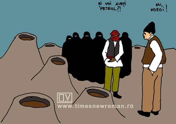 Vizita refugiaților la Vulcanii noroioși