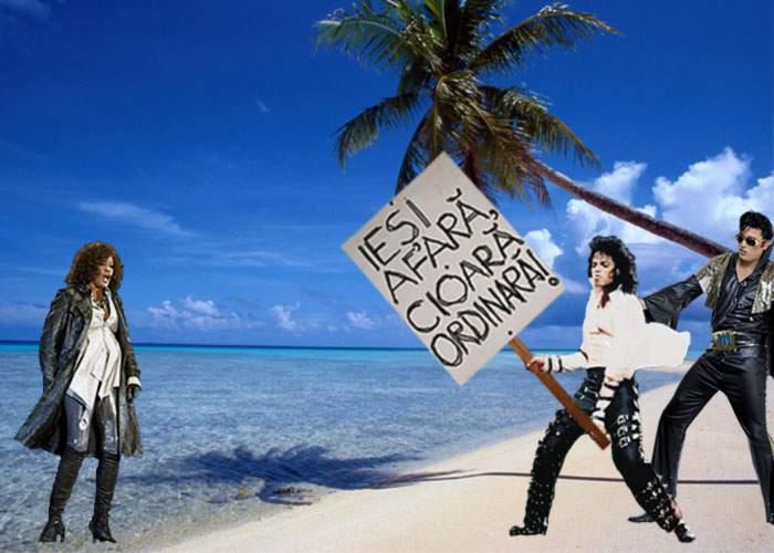 Whitney Houston n-a fost primită pe insula pustie deoarece Michael nu suportă să vadă negri!