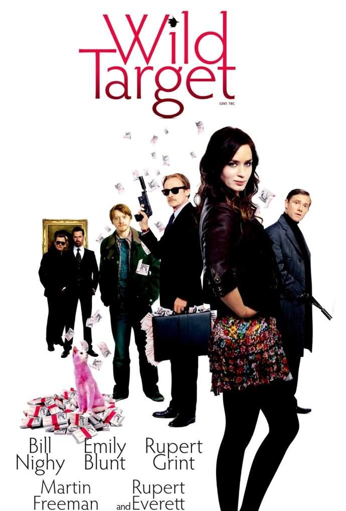 Wild Target – tovarăşul lui Harry Potter a ratat un blowjob de la Emily Blunt!!!