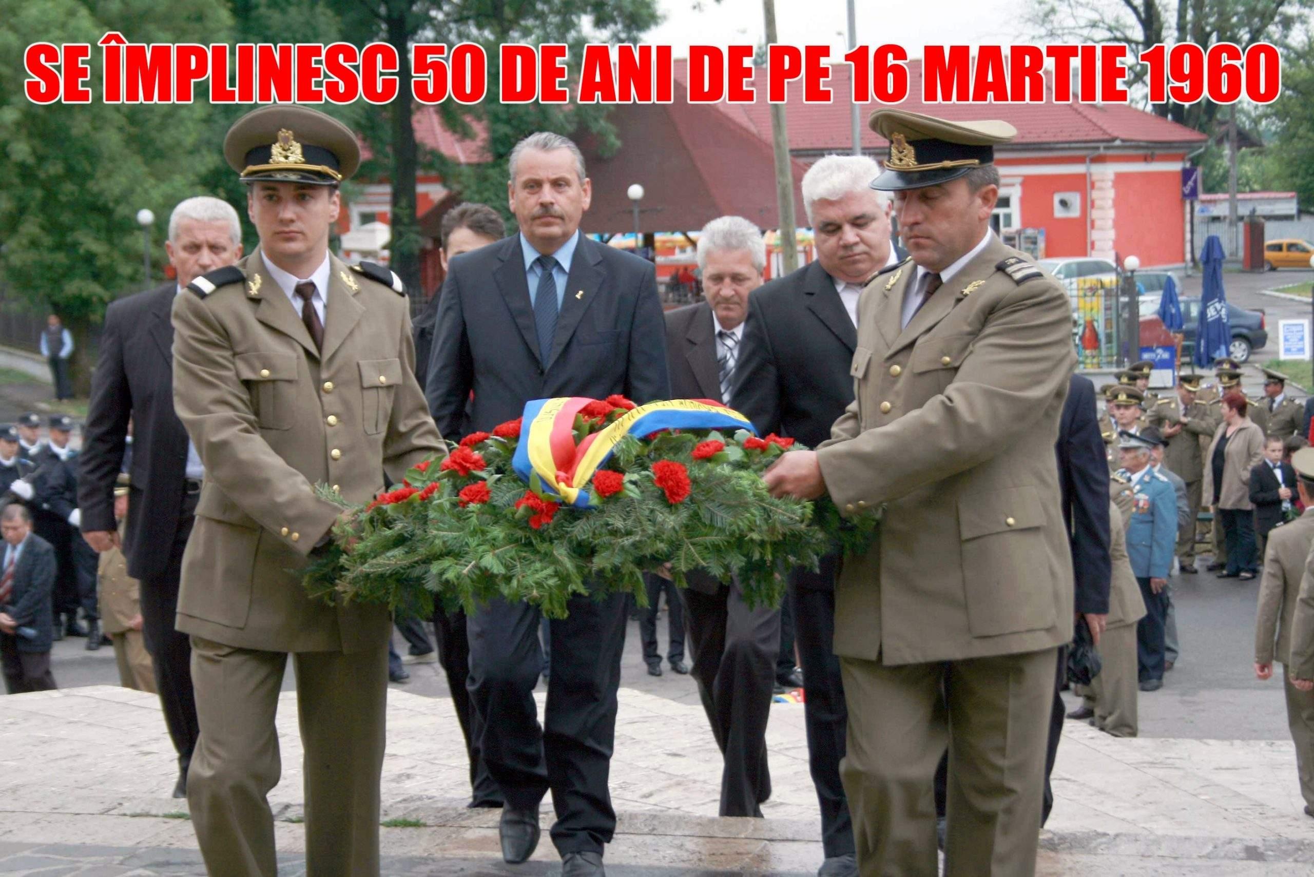 16 Martie 2010, 50 de ani de la 16 Martie 1960