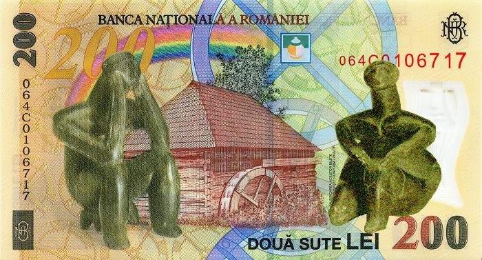 De 8 Martie, femeia Gânditorului de la Hamangia e şi ea pe bancnotă!