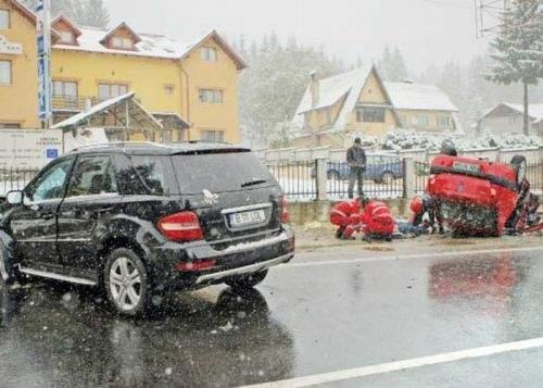 Incredibil! Un bărbat de 38 de ani din Oradea nu are nici o teorie despre accidentul lui Huidu