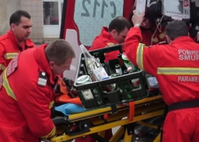 Camion cu vodcă, răsturnat la Vaslui! Medicii au salvat marfa; promit că vor reveni după şofer
