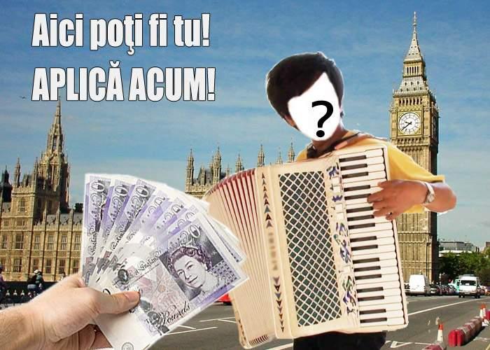 Locuri de muncă în Anglia pentru români! Se caută 3000 de acordeonişti