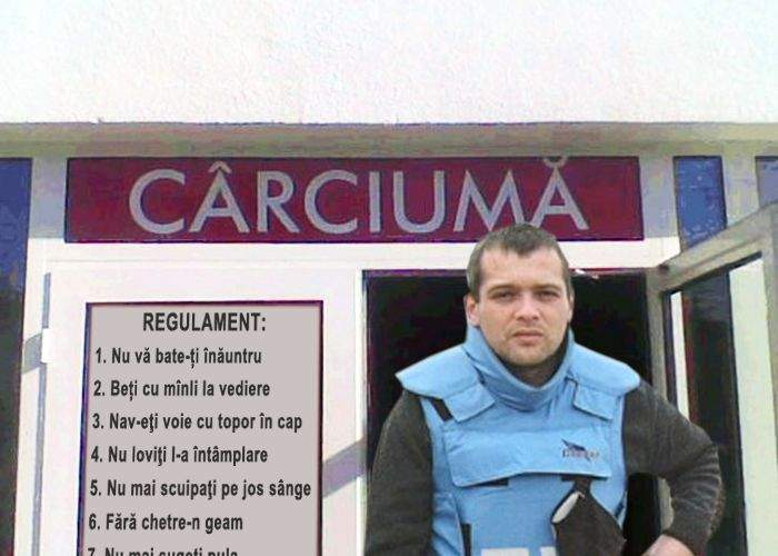 Adelin Petrișor va transmite dintr-o zonă de conflict aflată în județul Vaslui