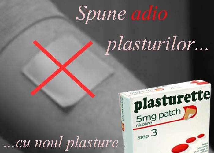 Plasturette: plasturele care te ajută să te laşi de plasturii care te ajută să te laşi de fumat