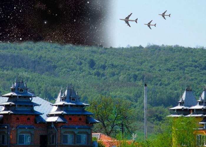 Traficul aerian, îngreunat după ce peste Strehaia s-a furat aerul pe o porţiune de 10 km