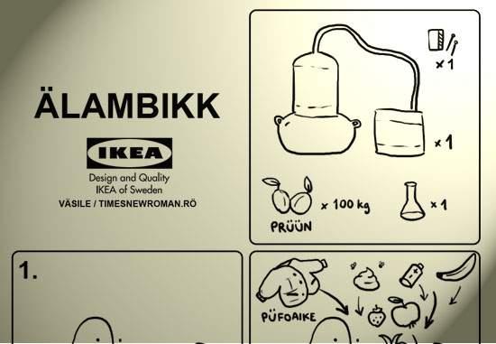 În sfârşit, un produs pentru români! Instrucţiunile de folosire ale noului ÄLAMBIKK de la Ikea