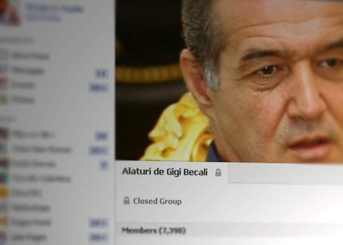 """Solidaritate! Deţinuţii de la Rahova au înfiinţat grupul de Facebook """"Alături de Gigi Becali"""""""