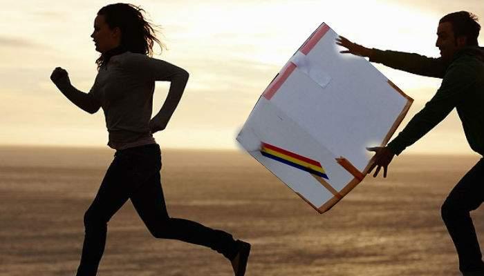 Trântă la condiţia fizică! Din 300.000 de români alergaţi cu urna mobilă, doar 3 au scăpat